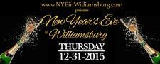 NYE in Williamsburg logo