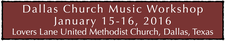 Dallas Chapter of Choristers Guild logo