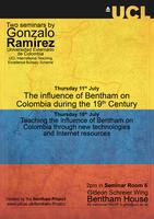 Bentham and Colombia Summer Seminars