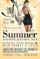 Summer Nights @ Gypsy Bar 6/6