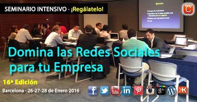 Domina las Redes Sociales para tu Empresa - Seminario...