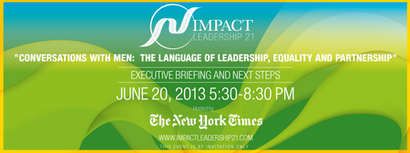 "IMPACT Leadership 21 Briefing ""Conversations With Men"""