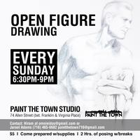 Open to Artists ~ Open Figure Drawing