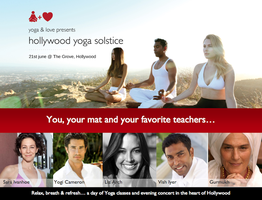 Hollywood Yoga Solstice