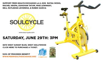 Peer Health Exchange LA SoulCycle Event