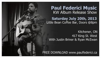 Paul Federici Kitchener Relaese Show