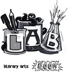 Literary Arts Boom logo