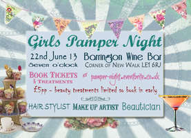 Girls Pamper Night