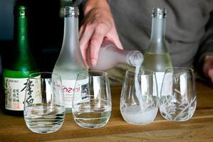 Kapow's Chef Pairing Series : Sake
