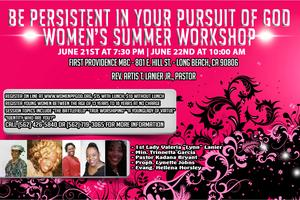 Young Women's Workshop Registration