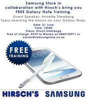Samsung Galaxy Note Training
