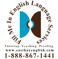 Fill Me In English Language Services logo