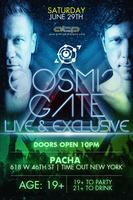Cosmic Gate @ Pacha NYC | ATP NY