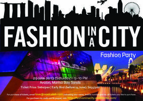 FASHION IN A CITY @ Avalon MBS