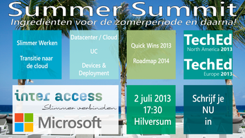Inter Access Microsoft Summer Summit