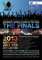 UGCY 2013 - 3rd Annual University Gospel Choir of the Year...