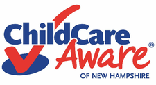 Child Care Aware of NH, a CCR&R Program of SNHS logo