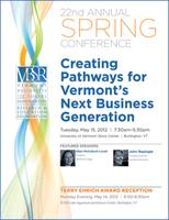 VBSR Spring Conference- Creating Pathways for VT's Next...