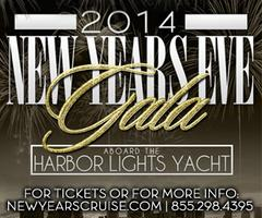 2014 New Year's Eve Gala Aboard the Harbor Lights Yacht