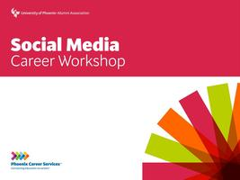 Social Media Career Workshop