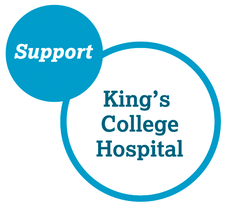on behalf of King's College Hospital Charity  logo