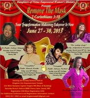 """Remove The Mask"" 2013 Women's Conference"