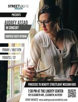 Audrey Assad in Concert: to benefit StreetLight Mission Kids