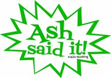 Ash Said It LLC logo