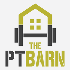 The P.T Barn logo