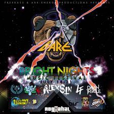 BRIGHT NIGHTS MUSIC FESTIVAL -HEADLINING BARE!! logo