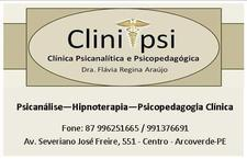 Clinipsi - Clínica Psicanalítica e Psicopedagógica de Arcoverde logo
