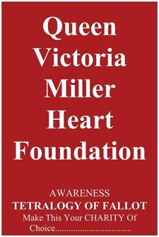 Queen Victoria Miller Heart Foundation logo