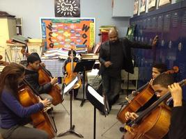 Washington Heights Community Academy for the Arts Music Student...