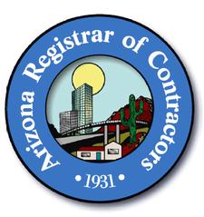 Arizona Registrar of Contractors logo