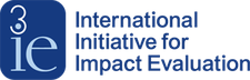 International Initiative for Impact Evaluation (3ie) logo