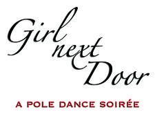 Girl Next Door - a pole dance soirée logo