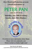 PETER PAN-Saturday July 20th @ 7:00 PM