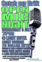 CMD OPEN MIC NIGHT