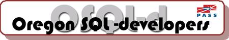 Monthly Oregon SQL Meetings