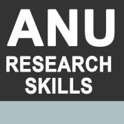 ANU Research Training logo