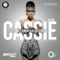 Cassie Live at OPERA  AMG ENT Tuesday 6/18/2013