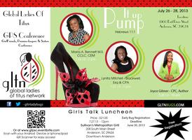 Girlfriends, Promise-keepers, & Sisters Conference
