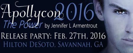 ApollyCon 2016 - The Power by Jennifer L. Armentrout...