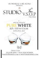 Studio V.S.O.P. Pure White Hennessy