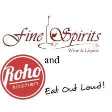 Roho Kitchen & Fine Spirits logo