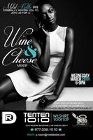 Wine and Cheese Mixer with Metal Kettle PR and Darrell Roach...