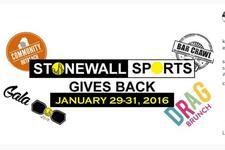 Stonewall Sports - Pittsburgh: Gives Back Weekend--Friday, Jan 29-Sunday, Jan 31, 2016 logo