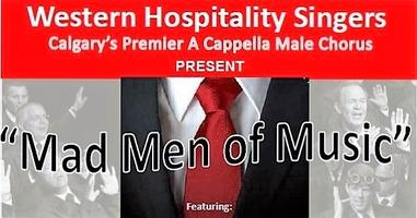 """MAD MEN OF MUSIC"" Four part a cappella music in the..."