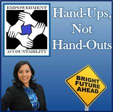 Hand-ups, Not Hand-Outs, LLC logo