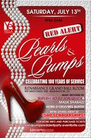 Pearls and Pumps Red Alert Party!!!